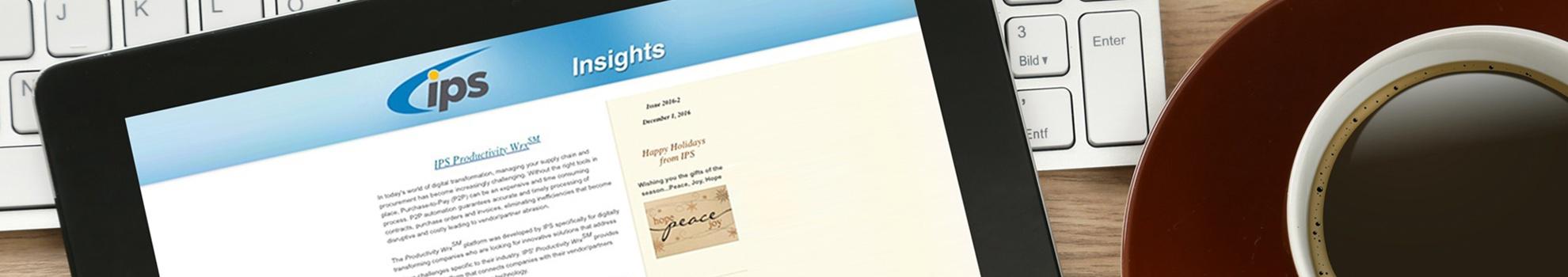 IPS_Resources_InsightsNewsletter_Banner